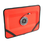 """Fabrique Chill Slate - 16"""" 17"""" Red notebook cooling pad"""
