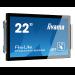 "iiyama ProLite TF2234MC-B5AGB 21.5"" 1920 x 1080pixels Multi-touch Black touch screen monitor"