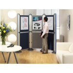 Nobo Modular Display System - Small Panel (A1) Felt