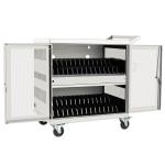 Tripp Lite CSC32USBW portable device management cart/cabinet White