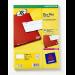 Avery L7553-25 self-adhesive label Transparent 1200 pc(s)