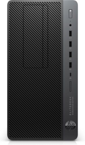 HP EliteDesk 705 G4 AMD Ryzen 5 2400G 16 GB DDR4-SDRAM 256 GB SSD Black,Silver Micro Tower Workstation