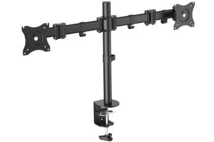 """Digitus DA-90349 monitor mount / stand 68.6 cm (27"""") Clamp Black"""