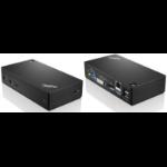 Lenovo ThinkPad USB 3.0 Pro Dock Wired USB 3.2 Gen 1 (3.1 Gen 1) Type-A Black
