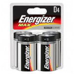 Energizer E95BP-4 household battery Single-use battery D Alkaline
