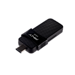 PNY Duo Link USB flash drive 64 GB USB Type-A / USB Type-C 3.2 Gen 1 (3.1 Gen 1) Black