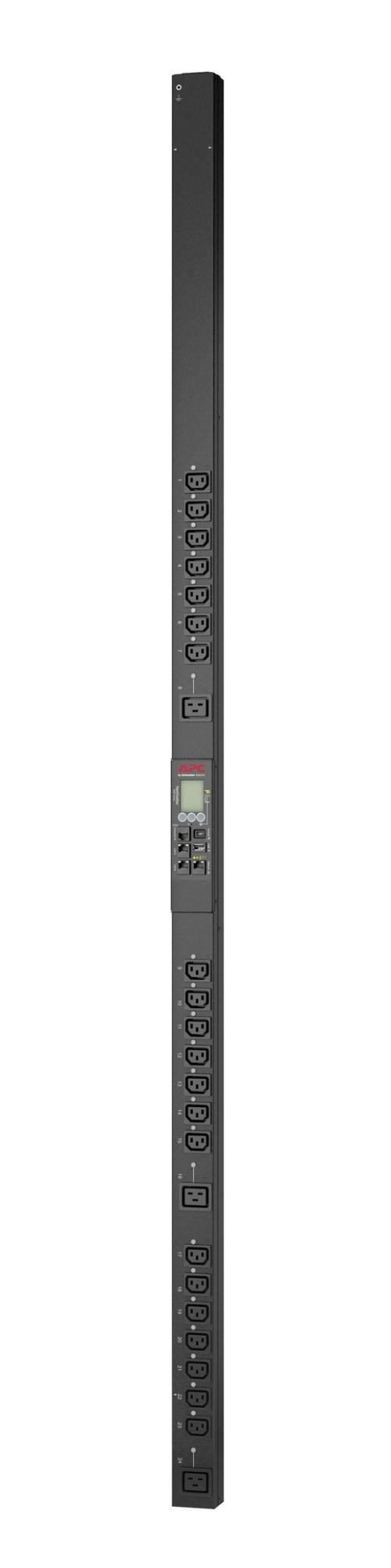 APC APDU9959EU3 power distribution unit (PDU) 24 AC outlet(s) 0U Black