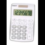 Genie 120 S calculator Pocket Display Grey, White