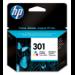 HP Cartucho de tinta original 301 Tri-color