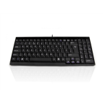 Accuratus 8265 15KV keyboard USB QWERTY UK English Black