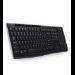 Logitech K270 teclado RF inalámbrico AZERTY Francés Negro