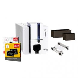 Evolis Edikio FLEX Guest solution, single sided, 12 dots/mm (300 dpi), USB, Ethernet