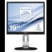 Philips P Line LED-backlit LCD monitor 19P4QYEB/00