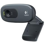 Logitech C270 3MP 1280 x 720pixels USB 2.0 Black,Grey webcam