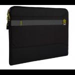"STM Summary notebook case 38.1 cm (15"") Sleeve case Black"