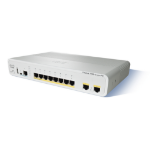 Cisco Catalyst 2960C PD Unmanaged L2 Fast Ethernet (10/100) Power over Ethernet (PoE) White