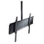 "Peerless STRAIGHT COLUMN CEILING MOUNT UNIV SEC W/CP 65"" Black flat panel ceiling mount"