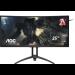 "AOC Gaming AG352UCG6 pantalla para PC 88,9 cm (35"") 3440 x 1440 Pixeles UltraWide Quad HD LED Negro, Rojo"