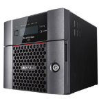 Buffalo TeraStation WS5220DN Ethernet LAN Desktop Black NAS