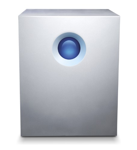 LaCie 5big Thunderbolt 2 disk array 20 TB Desktop Aluminium