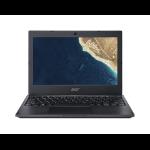 """Acer TravelMate B B118-M-P7GL Black Notebook 29.5 cm (11.6"""") 1366 x 768 pixels Intel® Pentium® Silver N5000 4 GB DDR4-SDRAM 128 GB SSD"""