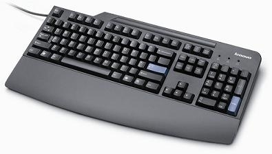 Lenovo Preferred Pro USB - Slovak keyboard Black
