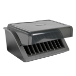 Tripp Lite CSD1006USB Desktop mounted Black charging station organizer