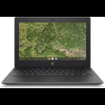 """HP Chromebook 11A G8 EE 29,5 cm (11.6"""") Touchscreen HD AMD A4 4 GB DDR4-SDRAM 32 GB eMMC Wi-Fi 5 (802.11ac) Chrome OS Groen"""