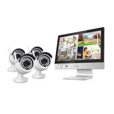 HOME GUARD WIRELESS AIO CCTV KIT 4CH/4CAM
