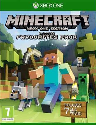 Microsoft Minecraft Favorites Pack + 7 DLC, Xbox ONE