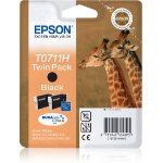 Epson Giraffe T0711H Original Schwarz Multipack 1 Stück(e)
