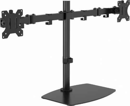 Vision VFM-DSDB multimedia cart/stand Multimedia stand Black Flat panel