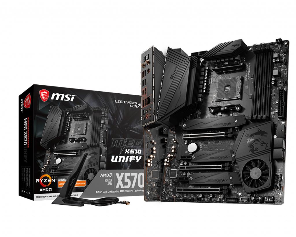MSI MEG X570 UNIFY motherboard Socket AM4 ATX AMD X570