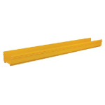Tripp Lite SRFC10STR48 Toolless Straight Channel Section for Fiber Routing System, 240 x 120 x 1220 mm (10 x 5 x 48 in.)