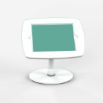 Bouncepad Counter Flex | Apple iPad 3rd Gen 9.7 (2012) | White | Covered Front Camera and Home Button |