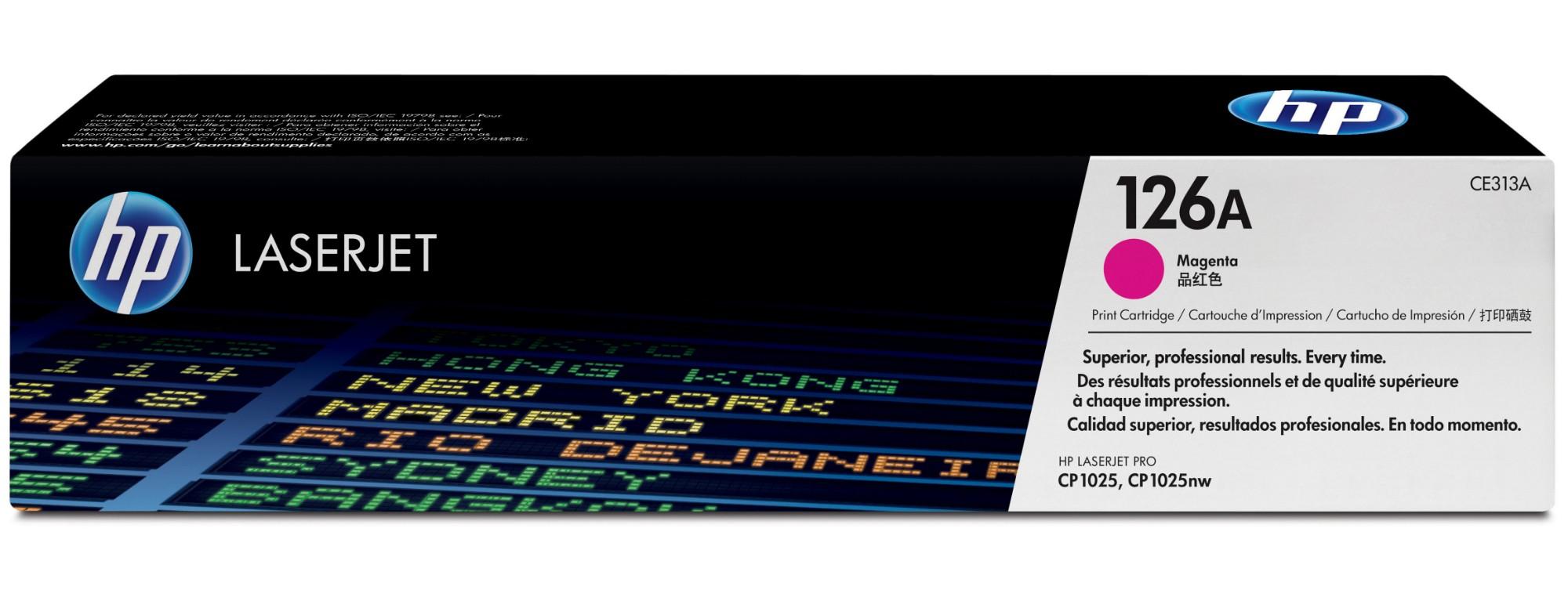 HP 126A Origineel Magenta 1 stuk(s)