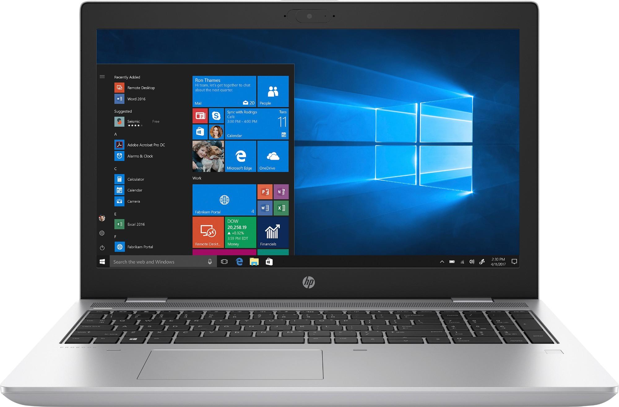 """HP ProBook 650 G5 Zilver Notebook 39,6 cm (15.6"""") 1920 x 1080 Pixels Intel® 8ste generatie Core™ i5 8 GB DDR4-SDRAM 256 GB SSD Windows 10 Pro"""