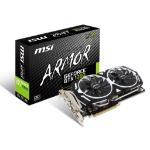 MSI GeForce GTX 1060 ARMOR 6G OCV1 GeForce GTX 1060 6GB GDDR5