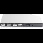 Hewlett Packard Enterprise 9.5mm SATA DVD-RW JackBlack Gen9 Optical Drive optical disc drive Internal Black,Grey DVD Super Multi DL