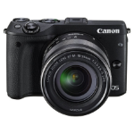Canon EOS M3 + EF-M 18-55mm MILC 24.2MP CMOS 6000 x 4000pixels Black
