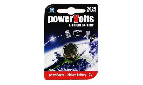 2-Power ALT1459A household battery Single-use battery CR2025 Lithium