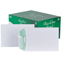 Basildon Envelopes Pocket Peel and Seal 120gsm White C5 [Pack 500]