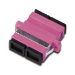Digitus DN-96018-1 SC/SC 1pc(s) Violet fiber optic adapter