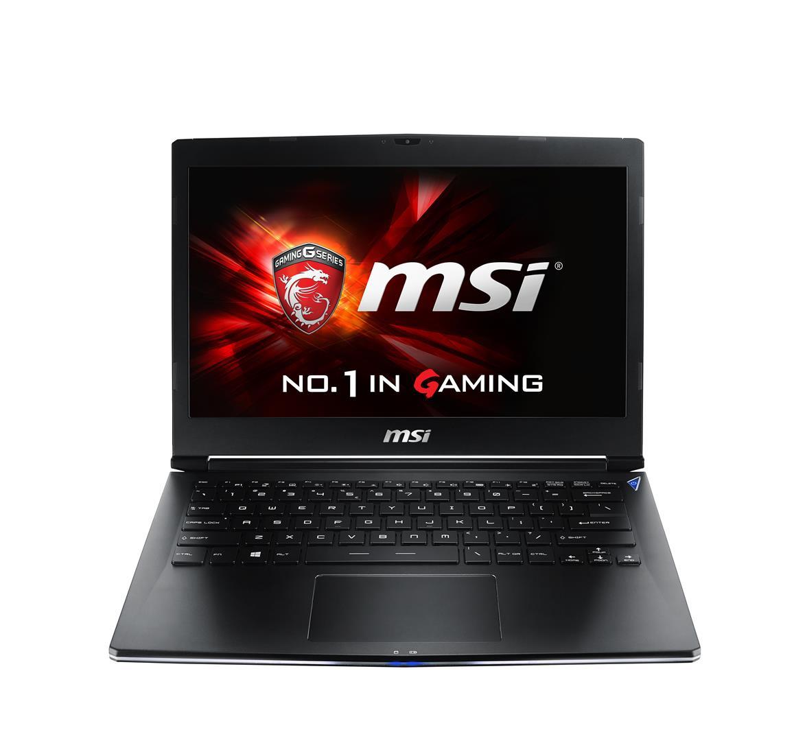 "MSI Gaming GS30 2M(Shadow)-205UK 2.7GHz i7-5700HQ 13.3"" 1920 x 1080pixels Black"