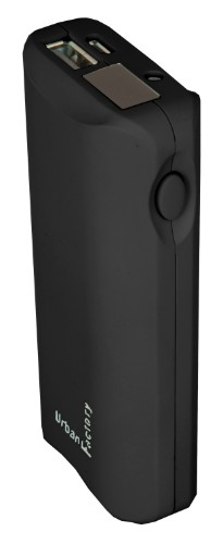 Urban Factory BAN66UF power bank Black 6000 mAh