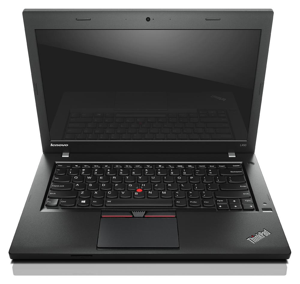 "Lenovo ThinkPad L450 2GHz i3-5005U 14"" 1366 x 768pixels Black"