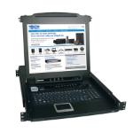 Tripp Lite NetDirector 8-Port 1U Rack-Mount Console KVM Switch w/17-in. LCD