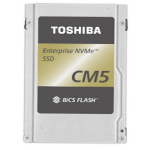 """Toshiba CM5-R eSSD 3840 GB PCIe 3x4 2.5"""" 3D TLC NVMe"""