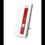AVM FRITZ!WLAN Repeater DVB-C 1300Mbit/s Rood, Wit