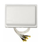 Fortinet FANT-06ABGN-2504-O-R network antenna Omni-directional antenna RP-SMA 4 dBi